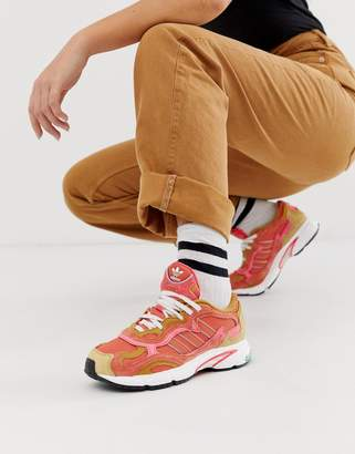 adidas Orignals Temper Run in amber