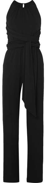 Michael Kors Collection - Stretch-jersey Jumpsuit - Black