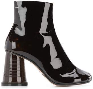 MM6 MAISON MARGIELA cup heel ankle boots