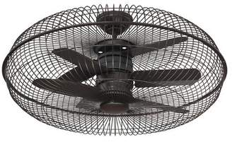 Latitude Run 28 Ririe Air Ionizing Ceiling Fan D'lier with Remote