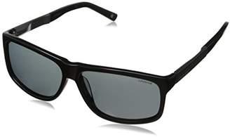 Polaroid Sunglasses Men's X8416S Polarized Rectangular Sunglasses