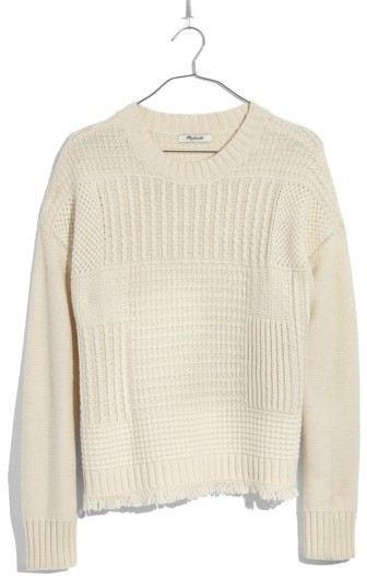Women's Madewell Stitchmix Pullover