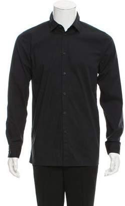 Helmut Lang Point Collar Button-Up Shirt