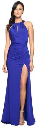 Faviana Faille Satin Keyhole 7890 Women's Dress