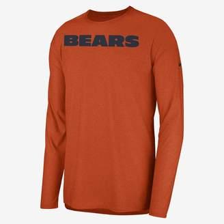 Nike Dri-FIT Player (NFL Bears) Men's Long Sleeve Top