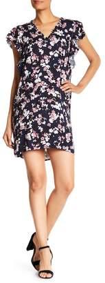 Splendid Ruffle Floral Dress