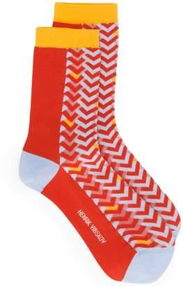 Henrik Vibskov Tile socks