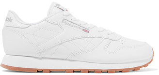 Reebok - Classic Leather Sneakers - White $70 thestylecure.com