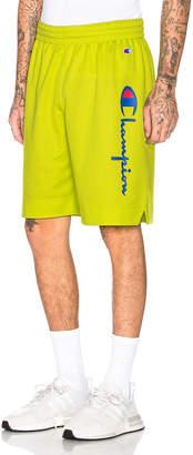 Champion Reverse Weave Champion Shorts in Green | FWRD