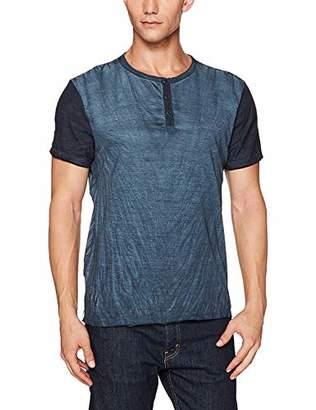 Buffalo David Bitton Men's Kamink Short Sleeve Henley Fashion T-Shirt