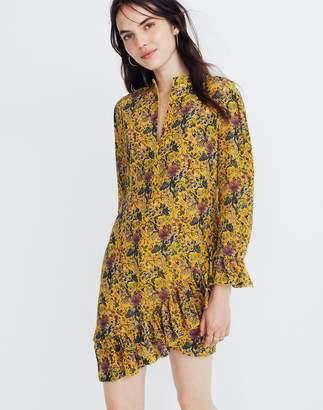 Madewell x Karen Walker Silk Floral Loretta Dress
