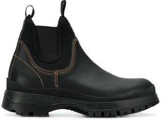 Prada slip-on boots