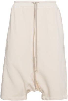 Rick Owens drop crotch drawstring shorts