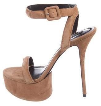 Alexander Wang Clay Platform Sandals