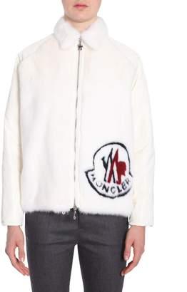 Moncler Gamme Rouge Fox Fur Down Jacket