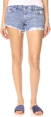 DL1961 Renee Cutoff Shorts $128 thestylecure.com