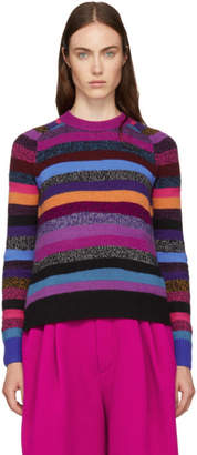 Marc Jacobs Long Sleeve Striped Sweater