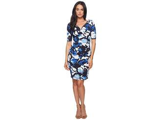 Lauren Ralph Lauren Chelsie Azrou Floral Dress Women's Dress
