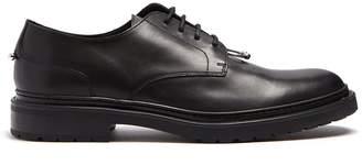 Neil Barrett Pierced leather derby shoes