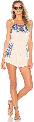 Cleobella Madena Playsuit in Cream $199 thestylecure.com