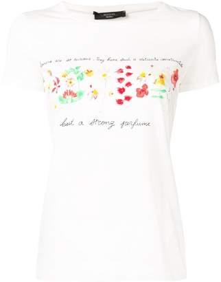 Max Mara Angio floral print T-shirt