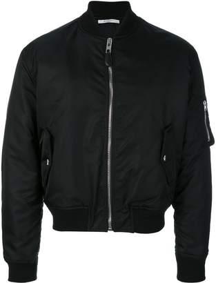 Givenchy illuminati patch bomber jacket