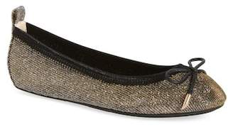 Yosi Samra Sawyer Iridescent Ballet Flat (Walker, Toddler, Little Kid & Big Kid)