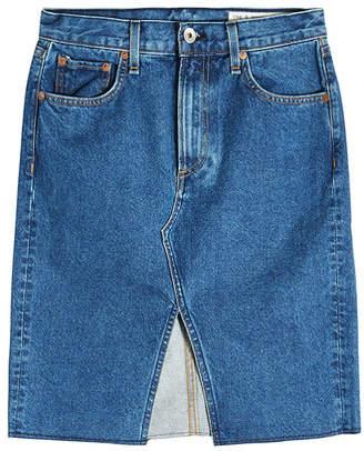 Rag & Bone Suji Denim Skirt