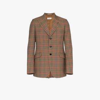 Dries Van Noten long sleeve check jacket