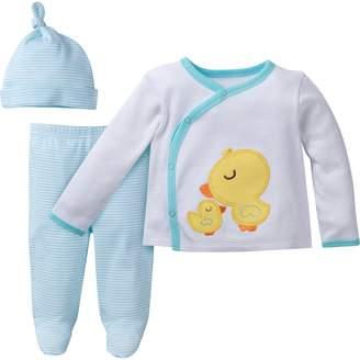 Gerber Unisex Baby 3-Piece Take Me Home Set Sleepwear