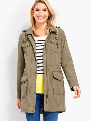 Talbots Hooded Anorak