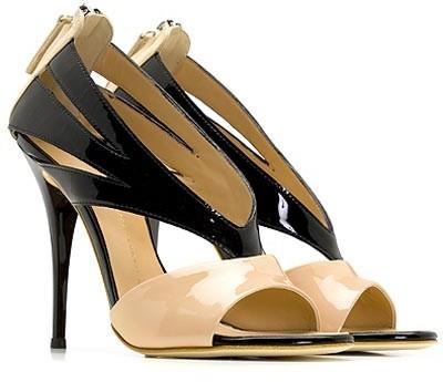 Giuseppe Zanotti Shoes Ver Blush Patent Sandal