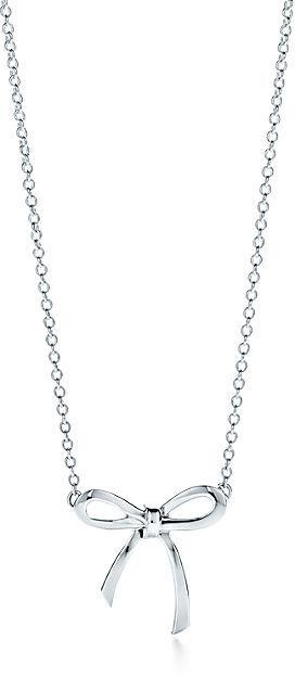 Tiffany & Co. Bow Pendant