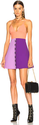 Fausto Puglisi Color Block Dress
