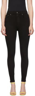 GRLFRND Black Kendall High-Rise Skinny Jeans