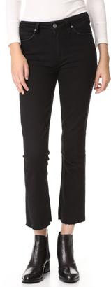 PAIGE Collette Crop Flare Jeans $209 thestylecure.com