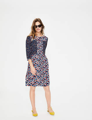 Boden Hotchpotch Pintuck Dress