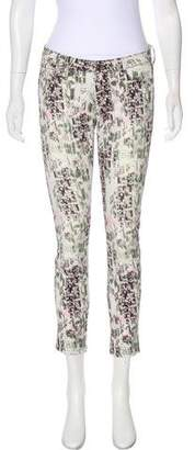 IRO Mid-Rise Printed Jeans
