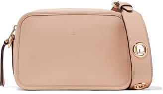 Fendi Leather Camera Bag - Beige
