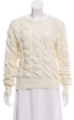 Bergdorf Goodman Angora & Wool-Blend Knit Sweater