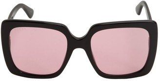 Gucci Square Sunglasses W/ Logo Detail