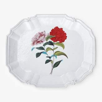 John Derian for Astier de Villatte Stuttgart Flower Platter