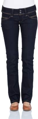 Pepe Jeans Womens Venus Straight Jeans Blue