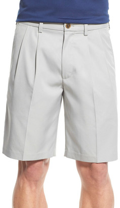 Nordstrom &Classic& Pleated Performance Shorts $55 thestylecure.com
