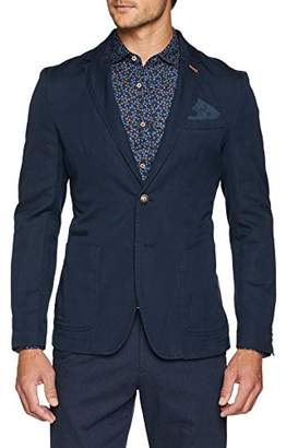 Benetton Men's Jacket Blazer,(Size: 48)