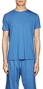 Derek Rose Men's Stretch-Jersey T-Shirt - Blue