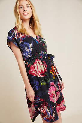 Anthropologie Astrid Needlepoint Mini Dress