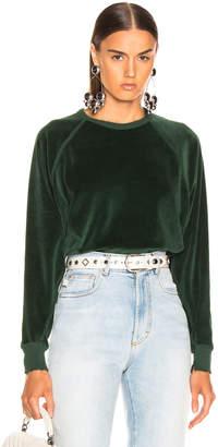The Great Velour College Sweatshirt