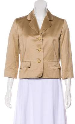 Celine Notch-Lapel Blazer