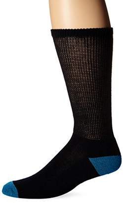 Dr. Scholl's Men's 2 Pack Non-Binding Crew Socks